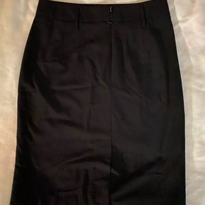 Business casual black pencil skirt excellent cond